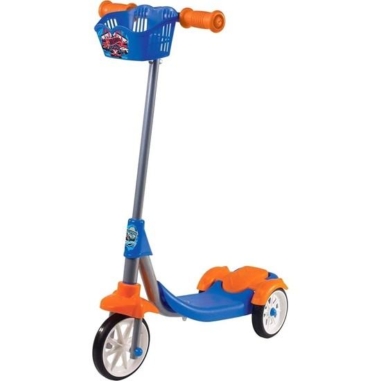 Hot Wheels 3 Tekerli Frenli Scooter