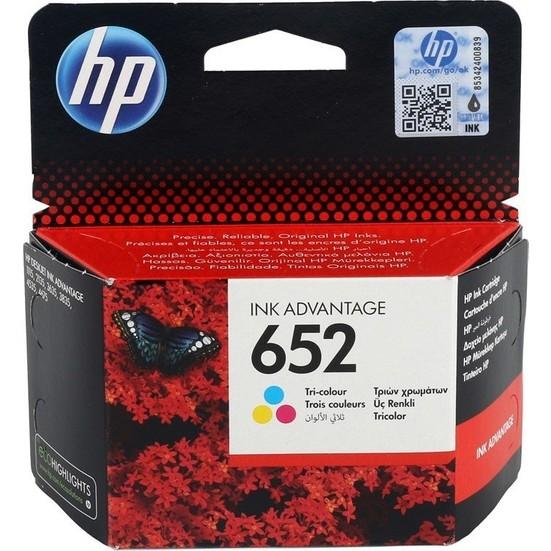 HP F6V24A (NR652) Renkli Kartuş (1115-2135-3635-3835-2136)