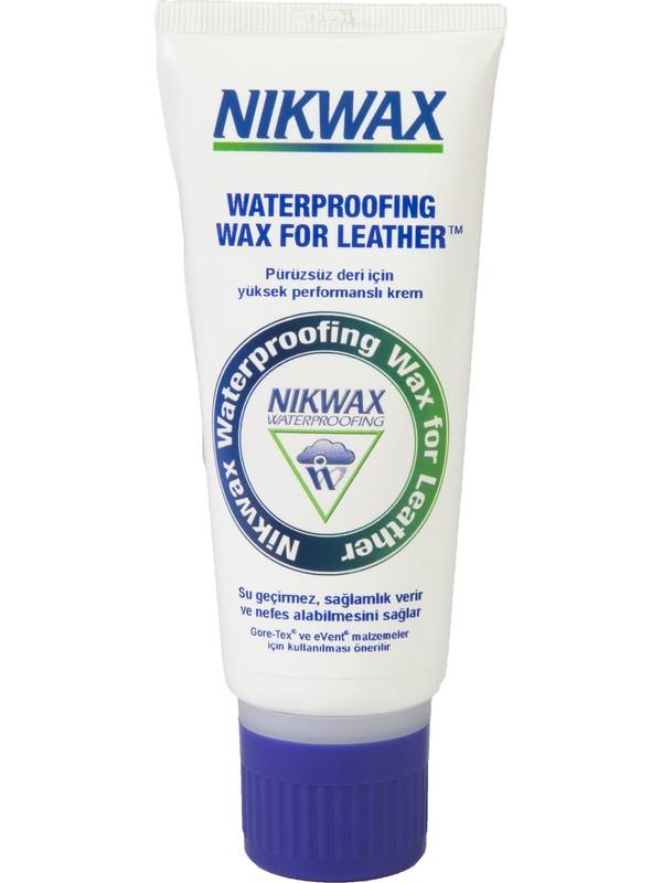 Nikwax Waterproofing Wax For Leather Cream Derilere Su Geçirmezlik Sağlayan Cila