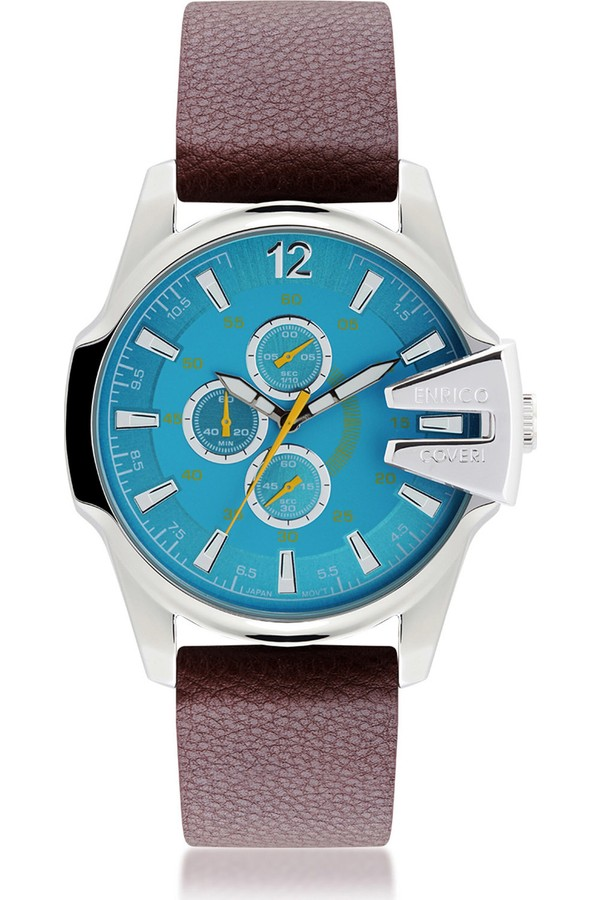 Enrico Coveri Water Resistant Men's Watch EC0704S-CR-2