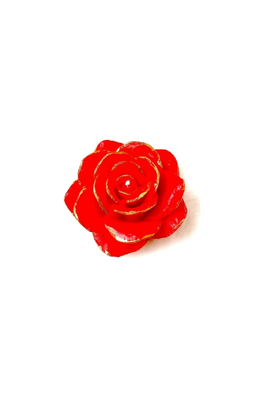 Merland Strawberry Scented Red Colored Rose Candle