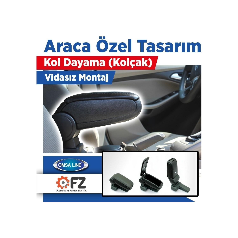 Omsa Line Peugeot 301 Araca Ozel Kol Dayama Kolcak Siyah Fiyati