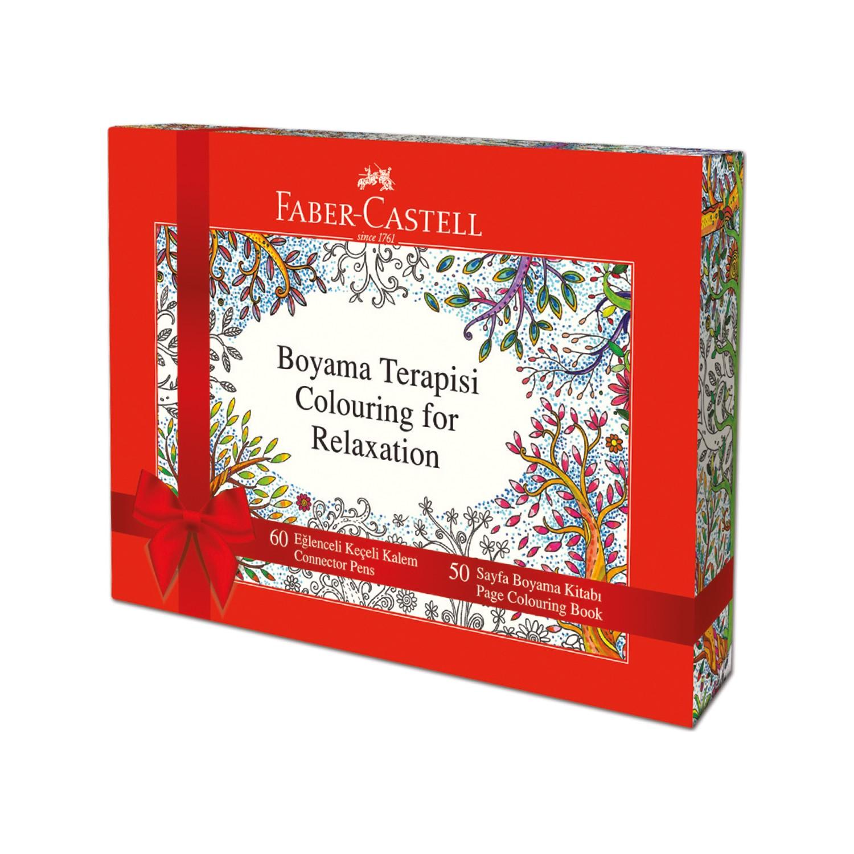 Faber Castell Boyama Kitap Hediyeli Eğlenceli Keçeli Boyama Fiyatı