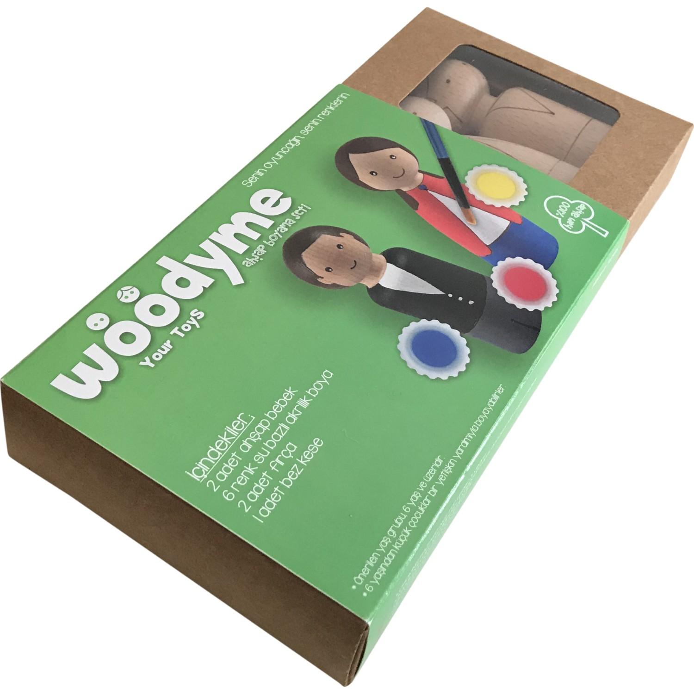 Woodyme Toys Ahsap Bebek Boyama Seti Fiyati Taksit Secenekleri