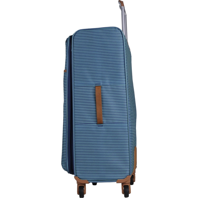 deeaf275d4798 It Luggage Ultra Light Kabin Boy Kumaş Valiz Çizgili Yeşil Fiyatı