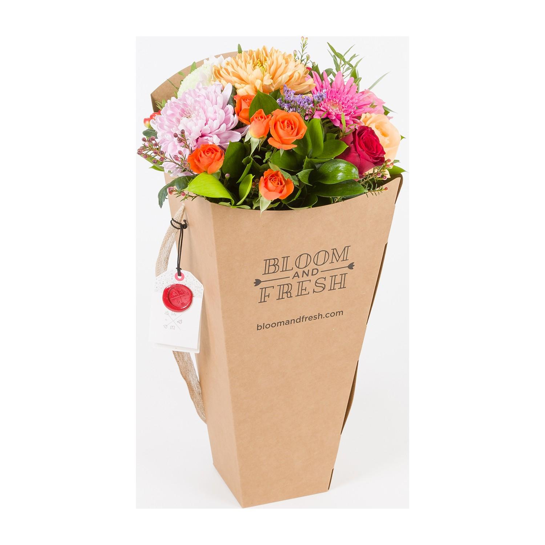 Bloom And Fresh Mixx Buket Kutusunda Renkli Güller Renkli Fiyatı