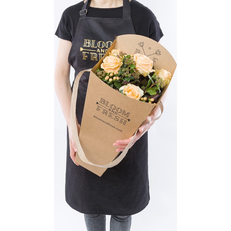 Bloom And Fresh Charlotte Buket Kutusunda Somon Gül Fiyatı