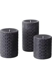 Ikea Bergamut Scented Candles Set