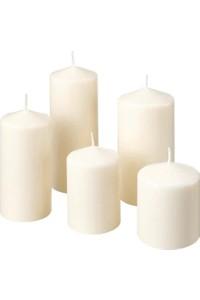 Ikea Candle Set