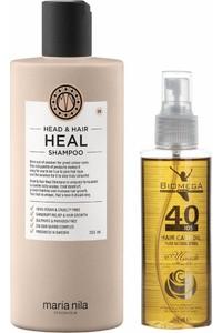 Maria Nila Head and Hair Heal Shampoo and Oil Set