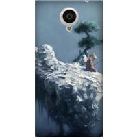 Cekuonline General Mobile Discovery Elite E7 Desenli Esnek Silikon Telefon Kapak Kılıf - Uzakdoğu