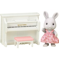 Sylvanian Families Rabbit Sister With Piano