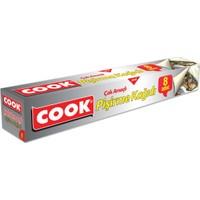 Cook Kesilmiş Çok Amaçlı Pişirme Kağıdı 30 cm 8 Li