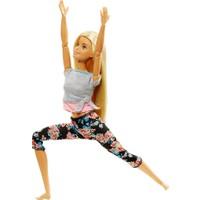 Barbie Sonsuz Hareket Bebekleri - Sarı Saçlı FTG81