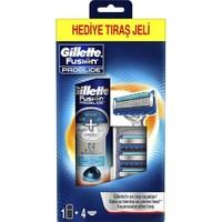 Gillette Fusion Proglide 4'lü Bıçak + Fusion Proglide Jel 200 ml