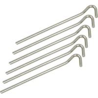 Evolite Çelik Çadır Kazığı 6 Adet 20 cm