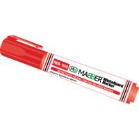 Mabber X-176 Beyaz Tahta Kalemi Kırmızı