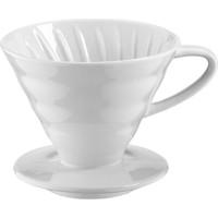 Kütahya Porselen Damlama Kahve Filtresi Beyaz