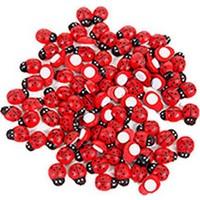 Uğur Böceği Kırmızı Sticker Büyük