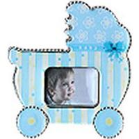 Mavi Bebek Arabası Çerçeve