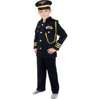 Oulabimir Pilot Kostümü Çocuk Kıyafeti