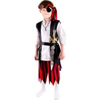 Oulabimir Korsan Kostümü Çocuk Kıyafeti