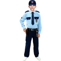 Oulabimir Polis Kostümü Çocuk Kıyafeti