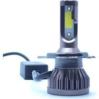 Stark Mini H4 Led Xenon 6000 Lümen Şimşek Etkili 6500 Kelvin Beyaz Renk Far Ampulü