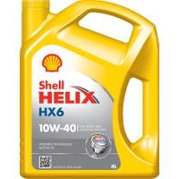 Shell Helix HX6 10W-40 4 Litre Motor Yağı ( Üretim Yılı: 2021 )