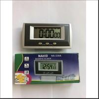 Nako Na-238A Dijital Masa Araba Saati Alarm-Kronometre- Tarih