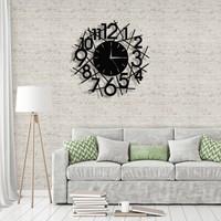 Tablo Art House Metal Duvar Saati Çizgiler 40 cm
