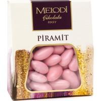 Melodi Çikolata Pembe Badem Şekeri - 250gr