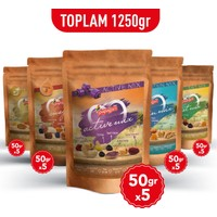 Papağan Kuruyemiş Sağlıklı Atıştırmalık Paketi (50 gr x 25 Paket)