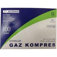 Kuteks Gaz Kompres 7,5 X 7,5 cm 100 Adet