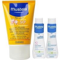 Mustela Güneş Losyonu Spf 50+ 100 ml Hydra Bebe Ve Dermo Cleansing 50 ml