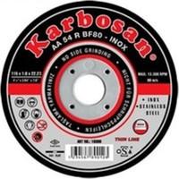 Karbosan Metal Kesici Disk 115X1X22 Mm İnox (25 Adet)