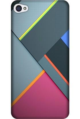 Cekuonline Lenovo S90 Desenli Esnek Silikon Telefon Kapak Kılıf - 6D Renkler