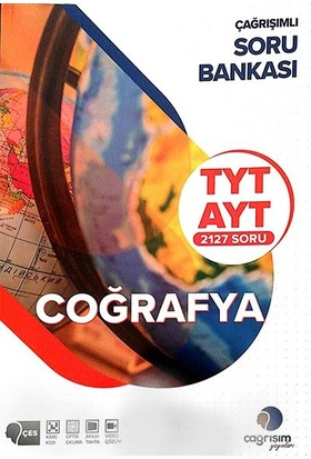 Çağrışım Yayınları Tyt - Ayt Coğrafya Çağrişimli Soru