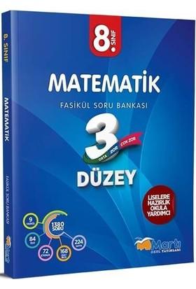 Martı Yayınları8.Sınıf 3 Düzey Matematik Soru Bankası