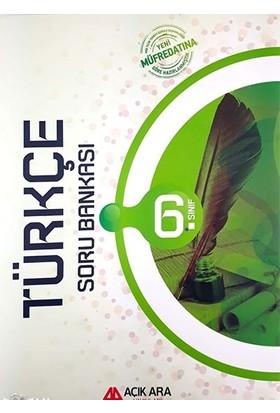 Açık Ara Yayınları 6.Sınıf Türkçe Soru Bankası