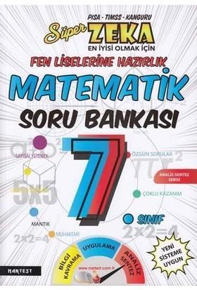 Nartest Yayınları 7.Sınıf Süper Zeka Fen Liselerine Hazırlık Matematik Soru Bankası