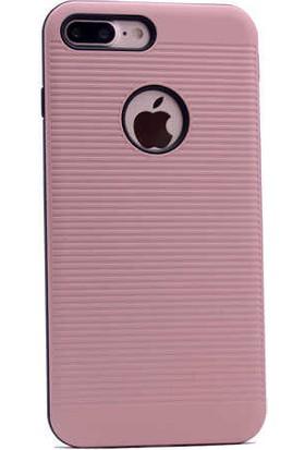 Evastore Apple iPhone 7 Plus Kılıf Zore Youyopu Silikon Kapak - Rose Gold