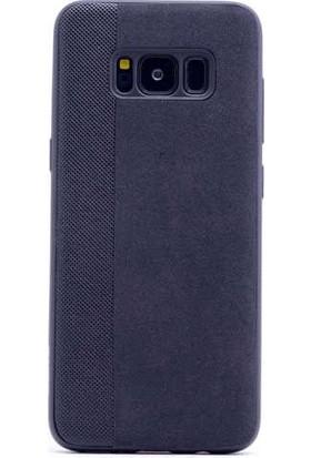 Evastore Galaxy S8 Kılıf Zore City Silikon - Siyah