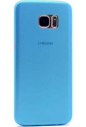 Evastore Galaxy S7 Edge Kılıf PP Silikon - Mor