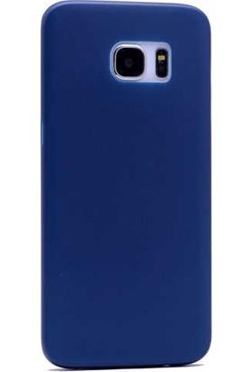 Evastore Galaxy S7 Edge Kılıf PP Silikon - Lacivert