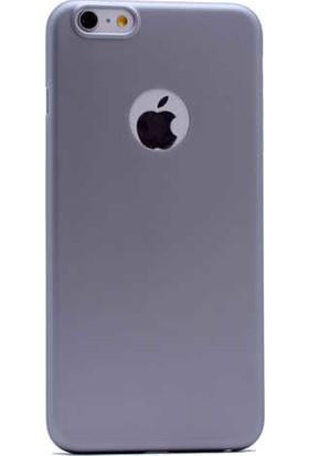 Evastore Apple iPhone 6 Plus Kılıf PP Silikon - Gold