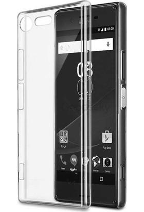 Evastore Sony Xperia XZ Premium Kılıf Süper Silikon Kapak - Şeffaf