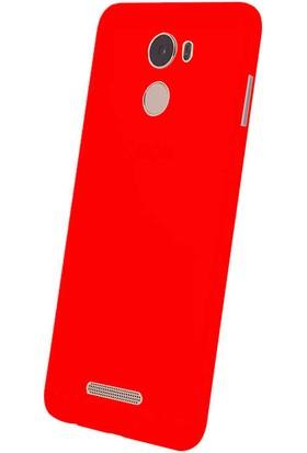 Evastore Casper Via P2 Kılıf Süper Silikon Kapak - Kırmızı