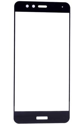 Evastore Huawei P10 Lite Ekranı Tam Kaplayan Düz Cam Koruyucu - Siyah