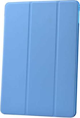 Evastore Apple iPad Pro 10.5 Smart Cover Standlı 1-1 Kılıf - Mavi